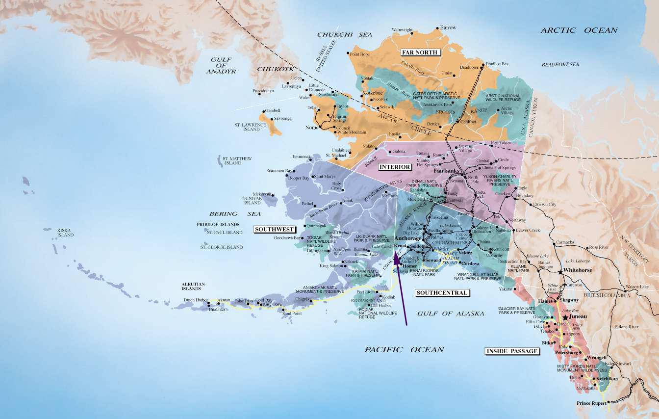 Alaska Maptitlegt